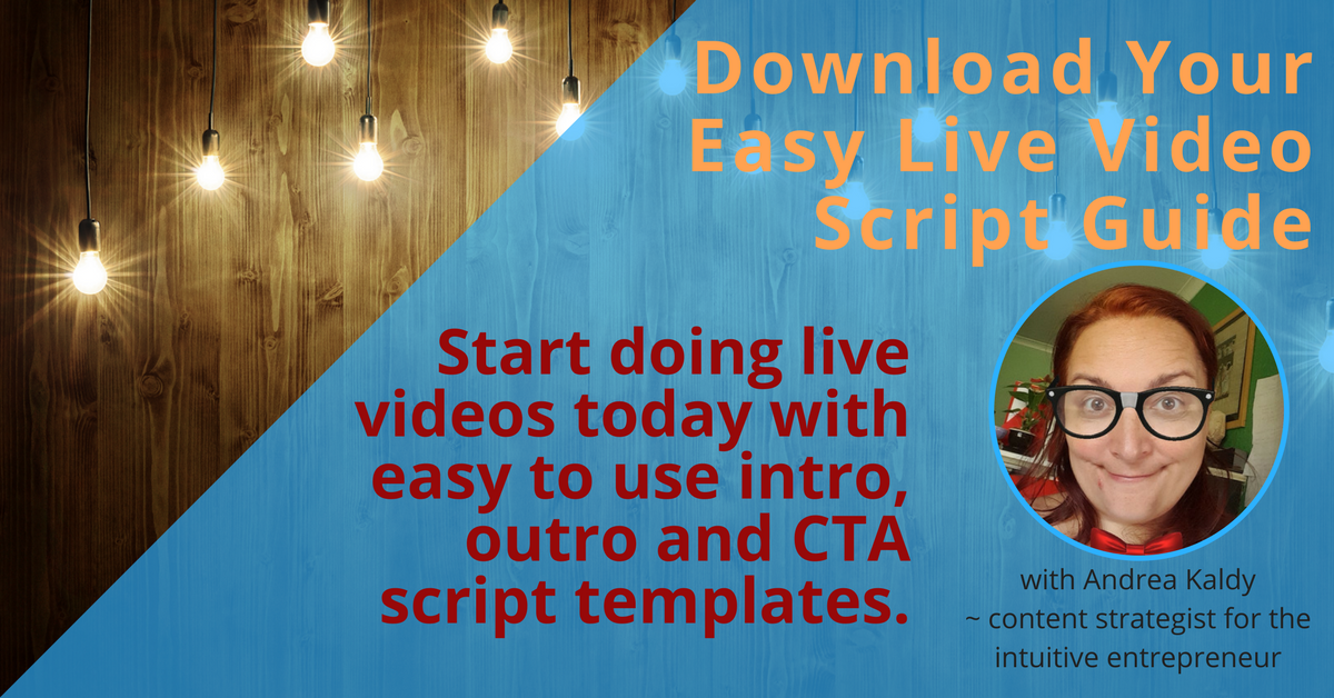 Download Your Easy Live Video Script Guide